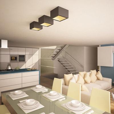 Vista cocina-comedor