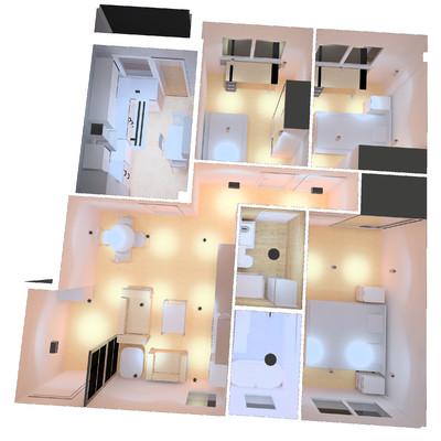 Propuesta para reformar un piso