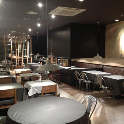 Vista de restaurante acabado y entregado a cliente