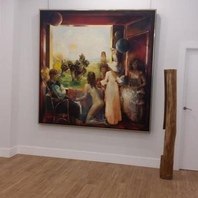 Limpieza fin de obra en Galería de Arte