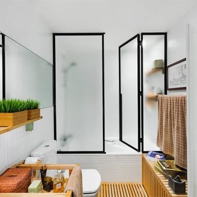 Vista del interior del baño.