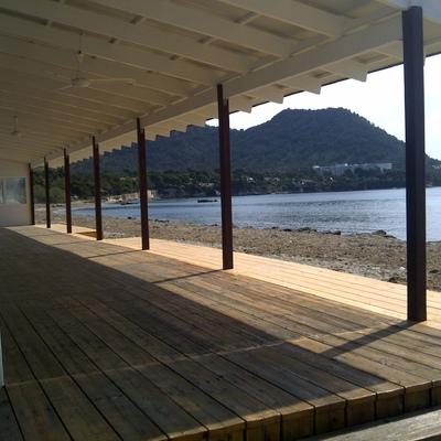Reforma integral Restaurante La playa de costa de los Pinos- Cala Millor.