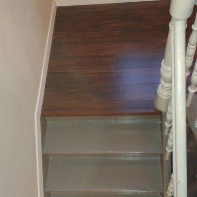 Reforma de Escaleras de acceso a planta 1ª de casa unifamiliar antigua