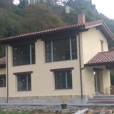 Construcción de una vivienda unifamiliar en Soto de Ribera con calificación energética C