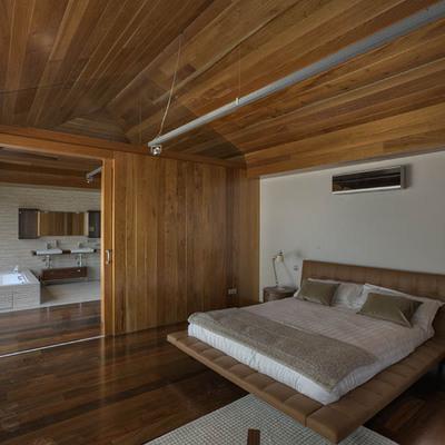 Vista dormitorio suite