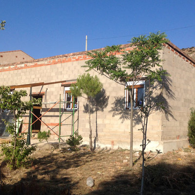 Construcción de una vivienda en Tartanedo, Guadalajara.