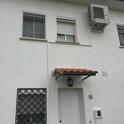 Tratamiento con aislante liquido GAINA. en vivienda unifamiliar adosada