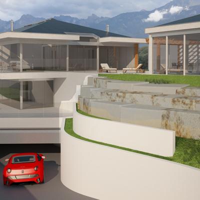 Diseño de vivienda en Suiza
