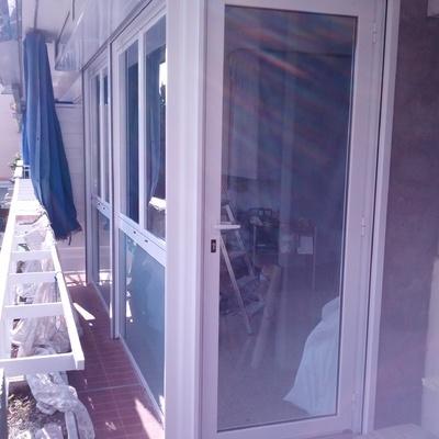 Cerramiento de balcón