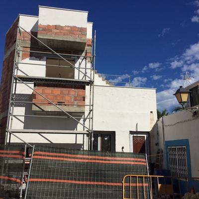Ampliación de vivienda unifamiliar 70 m2 en Carboneras, Almería.