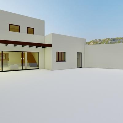 Nueva vivienda unifamiliar entre medianeras en Palma