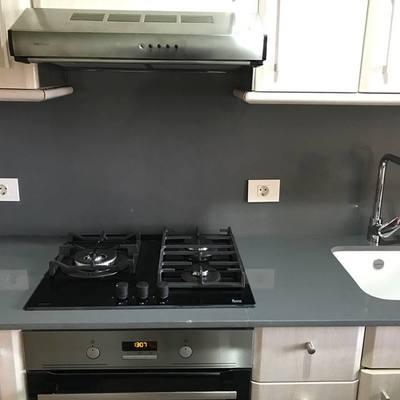 Reforma parcial de cocina