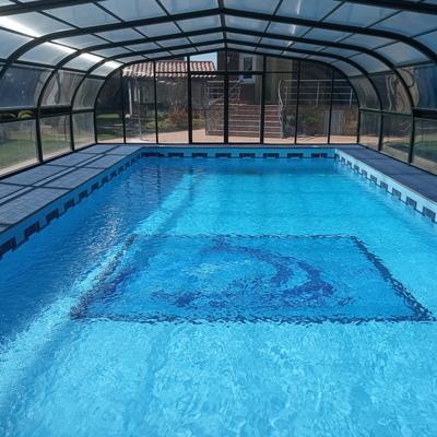 Reparación en piscina