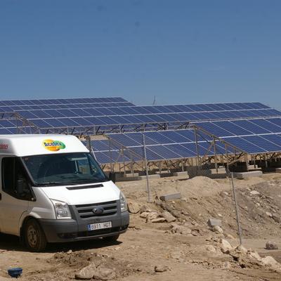 Planta solar para hotel rural en Acebo ( Caceres)