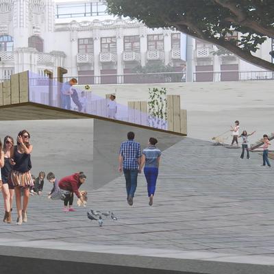 Remodelación de la Plaza Antonio Tenreiro (A Coruña)