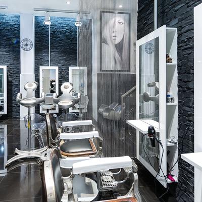 Vista general del la peluquería