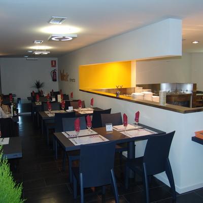 proyecto para reforma, acondicionamiento y decoración de restaurante en Las Rozas de Madrid.