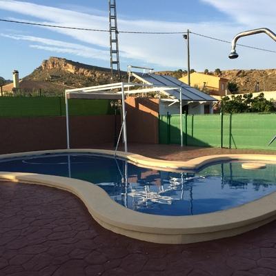 Climatización de piscina - captación plana