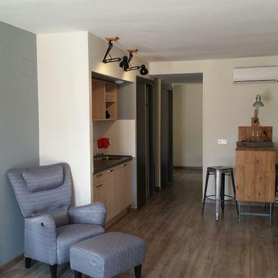 Vista parcial apartamento