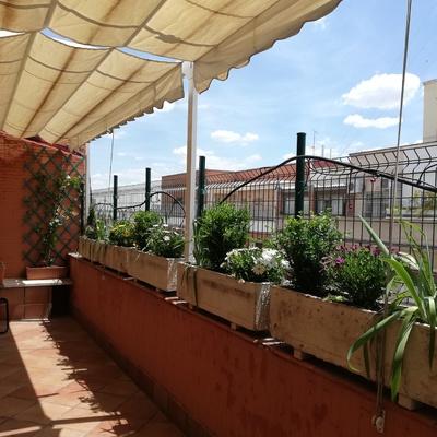 Arreglo terraza ático en Madrid