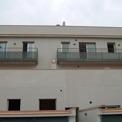 Vista trasera del edificio.