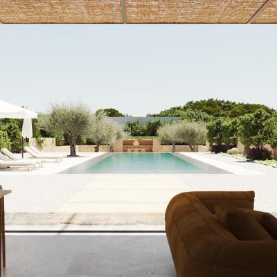 Vistas al jardin mediterraneo