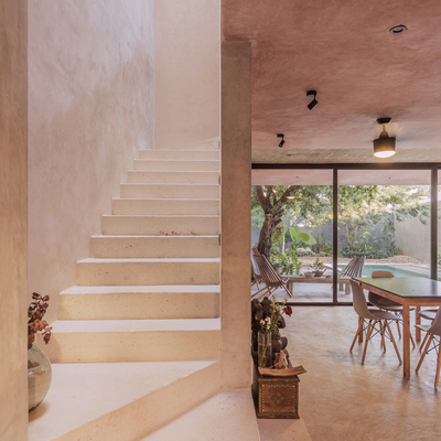 Vistas de las escaleras