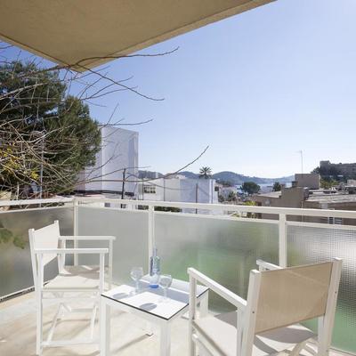 Vistas del Hotel TORA en Paguera