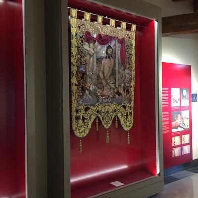 Muebles de exposición Museo Azul de la Semana Santa (MASS)