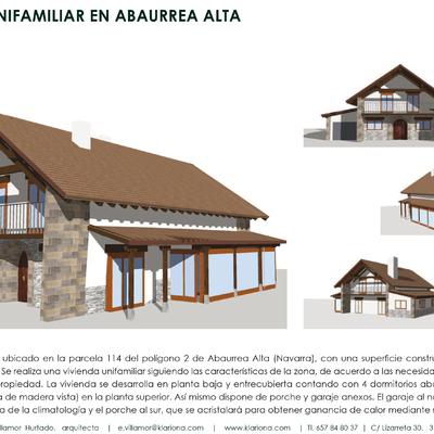 Vivienda unifamiliar En Abaurrea Alta-Navarra
