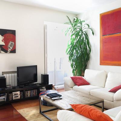 Una vivienda transformada en dos apartamentos