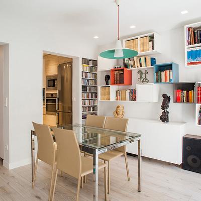 50 m² de espacios amplíos y luminosos