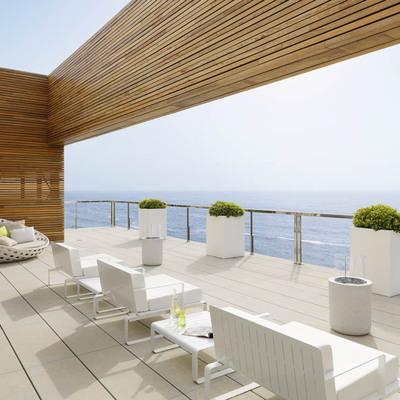 Una vivienda con vistas al mar