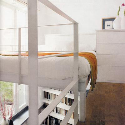 Una antigua portería de 25 m² convertida en un fantástico loft