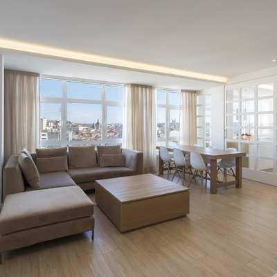 Una vivienda luminosa con vistas a La Coruña