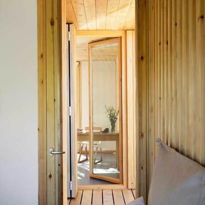 vivienda prefabricada de dos dormitorios