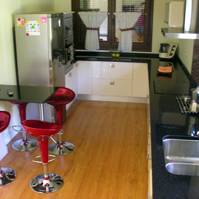 Vivienda unifamiliar - cocina