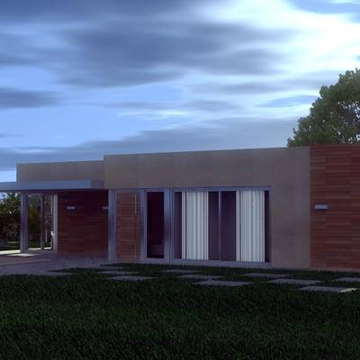 Vivienda unifamiliar UrbanHouse, 110 m2 - UH110/01