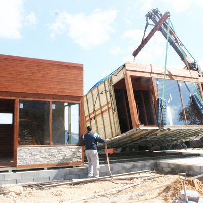 Vivienda Unifamiliar prefabricada de madera - AuBA Bio Arquitectura