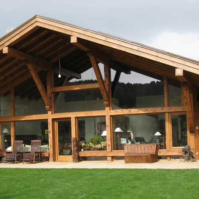 fachada vivienda ecológica