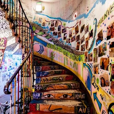 Vivir de forma alternativa: 14 Casas okupa alrededor del mundo