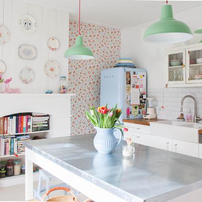 Ideas y fotos de muebles cocina vintage para inspirarte habitissimo - Muebles de cocina retro ...