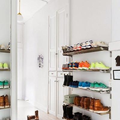 zapatos estantes