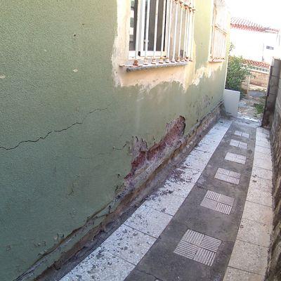 Reforma de fachada por humedades