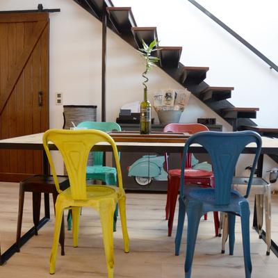 Zona comedor y acceso a terraza