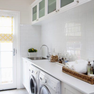 Zona de lavado en la cocina