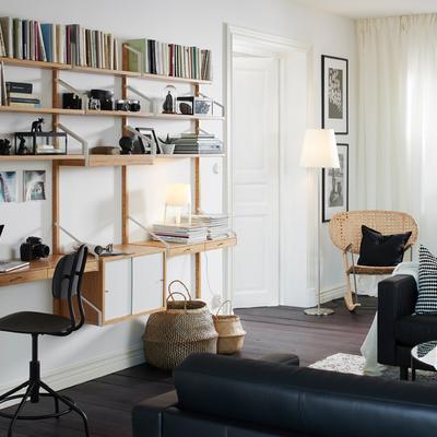 zona de trabajo en salón IKEA