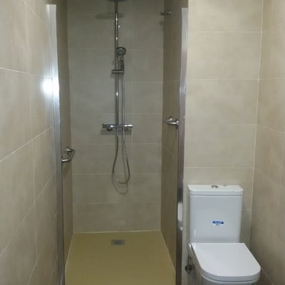 Zona ducha.