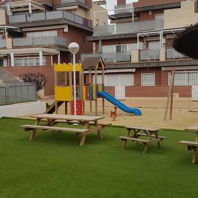 Zonas comunes comunidad (Gym, zonas verdes, parque infantil, spa)