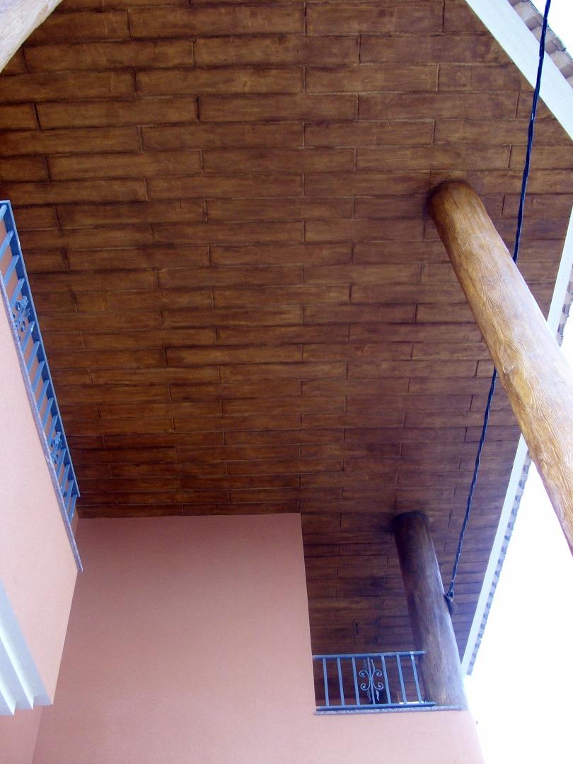 monocapa impreso imitacion madera